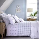 Bring the outside in with our Duck Egg Daisy Bed Linen Collection. The perfect fresh bedroom look #BlueMonday #Bedding #Bedroom #Home #Decor #Daisy