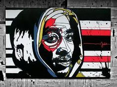 In Pictures 2Pac in Graffiti, Street Art Murals of 2Pac Shakure: EPISODE 1