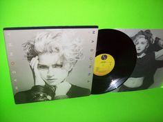 Madonna ‎– Vintage Vinyl LP Record 1983 Lucky Star Borderline Holiday Everybody  #1980sElectroSynthPopRock