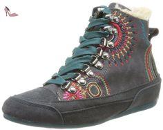 Desigual Shoes MISSIA 5, Ballerines Fermées Femmes - Gris - Grau (2006 Gris Oscuro), Taille 37 EU