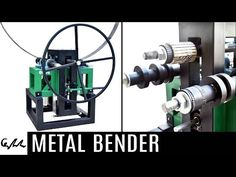 Homemade Metal Bender - YouTube