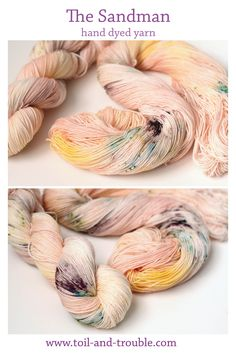 The Sandman | Toil & Trouble hand dyed yarn for knitting and crochet
