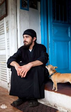 monastic life.. Mount Athos, Greece