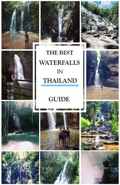 The best Thailand Waterfalls. Pictures and guides to the best Waterfalls in Thailand. Erawan Waterfall is located in Kachanaburi Group Travel, Travel And Tourism, Us Travel, Travel Destinations, Travel Plan, Country Maps, Travel Guides, Travel Tips, Thailand