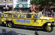 The first weekend of August the community of Bozeman, Montana comes alive to celebrate the arts with its annual Sweet Pea Festival. Summer Festivals, Crazy Day, Big Sky Country, Summer Travel, Montana, Summertime, Trips, Monster Trucks, Museum
