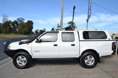 2012 Nissan Navara D22 Series 5 ST-R (4x4) White 5 Speed Manual Dual Cab Pick-up  3 Groves Ave, Mulgrave Sydney NSW 2756. (02) 4577-6133 www.glennsquality... sales@gqcnsw.com.au #Carbuyingasitshouldbe