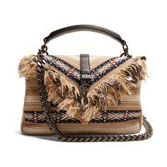 Trendy Women s Bags   Medium collège fringed cross-body bag by Saint  Laurent  saintlaurent  bags 513c48e8eb