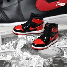 """Nike """"Air Chicago"""" Based in Seoul, South Korea, toy artist Kiddo has  created a collection of wonderfully detailed miniature."""