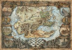 Watercolour and Ink on Paper. See also: The North Central Westeros Westeros and Essos . Southern Westeros Map - Game of Thrones Fantasy Map Making, Fantasy World Map, Fantasy Art, Game Of Thrones Map, Westeros Map, Map Games, Historical Maps, Hand Illustration, Map Art