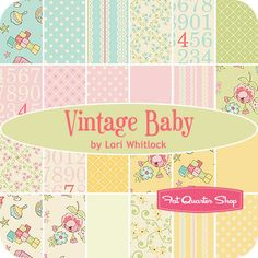 """Vintage Baby 10"""" Stacker  Lori Whitlock for Riley Blake Designs cute quilt! I need to learn"""