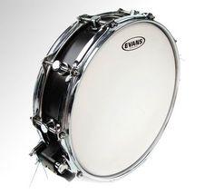 Evans 14 Inch Power Center Reverse Dot Coated Drum Head