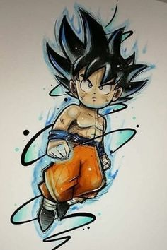 So cooool wallpaper for iPhone Chibi Goku If you want more such images visit my board Dragon Ball Chibi Goku, Dragon Ball Gt, Dragon Ball Image, Goku Drawing, Animes Wallpapers, Cartoon Art, Artwork, Anime Art, Manga Anime