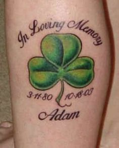 shamrock tattoos for women - Bing Images Tribal Tattoos, Tattoos Skull, Cute Tattoos, Body Art Tattoos, Tattoos For Guys, Tattoos For Women, Rip Tattoo, Four Leaf Clover Tattoo, Clover Tattoos