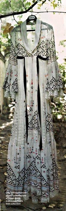 Lagerfeld for Chloé #Summer dress
