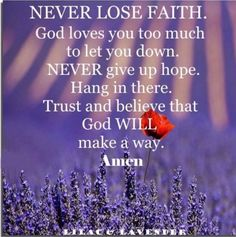 Kenneth Copeland Ministries: Partner Community - Partner Home Page Let You Down, Let It Be, Losing Faith, God Loves You, Have Faith, Amazing Grace, Love You So Much, Never Give Up, Gods Love