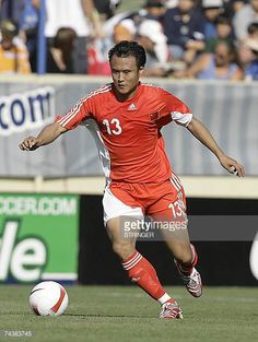 China's Xu Yunlong is seen in action during the team's international football friendly match against the US 02 June 2007 in San Jose California Clint...