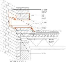 Overflow Scuppers Google Search Architecture Design Roof Design