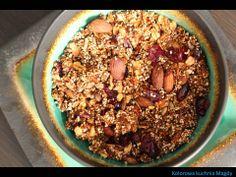 Kolorowa Kuchnia Magdy: Granola