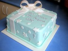 Sugar Siren Cakes Mackay: Boys Christening Cake