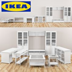 ikea liatorp series racks home pinte. Black Bedroom Furniture Sets. Home Design Ideas