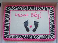 Baby Shower Cakes Zebra Print ~ Leopard print zebra print safari print cake sheet cakes