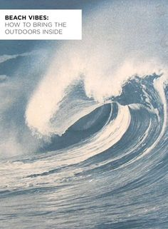 Beach Vibes: How to Bring the Outdoors Inside Beach Art, Ocean Beach, Summer Beach, Surfer Decor, I Love The Beach, California Travel, Large Wall Art, Coastal Decor, Beautiful Places