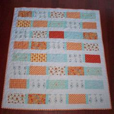 Quilt Story: Super cute Fishy baby quilt...