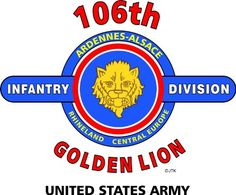 "106TH INFANTRY DIVISION ""GOLDEN LION"" "" U.S. MILITARY CAMPAIGNS LAMINATED PRINT ON 18"" x 24"" QUARTER INCH THICK POSTER BOARD 106TH INFANTRY DIVISION,http://www.amazon.com/dp/B00BRNGVFC/ref=cm_sw_r_pi_dp_fCqesb0ZAHMX8NZ7"