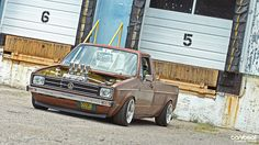 Custom culture  vw caddy pick up