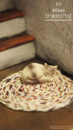 DIY Dollhouse Braided Rug