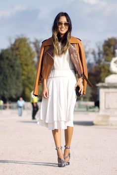 song-of-style-rebecca-taylor-white-midi-dress-chloe-pumps-pfw