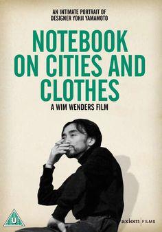 Via http://www.ebay.com.au/itm/Notebook-On-Cities-And-Clothes-DVD-UK-1994-Yohji-Yamamoto-Documentary-Film-New-/380777853633