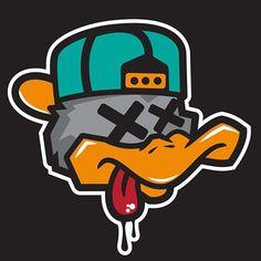 New YB Character Logo on Behance - Graffiti Graffiti Art, Graffiti Doodles, Graffiti Cartoons, Graffiti Characters, Graffiti Drawing, Graffiti Alphabet, Graffiti Lettering, Cartoon Kunst, Cartoon Art
