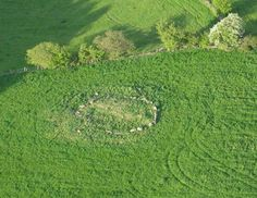 Glassonby stone circle is a short distance north west of the village of Glassonby, and just over 1.3 miles (2km) to the north of Long Meg and her Daughters, the largest stone circle in Cumbria. The circle of continuous stones is on a raised mound, which extends beyond the base of the stones. Until they were excavated by W.G.Collingwood in 1900, the stones were covered by the mound.