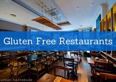 The Best Gluten Free Chain Restaurants - I'll have to check these out at my leisure but am a skeptic always. gluten free prepared in a glutenous kitchen is rife with the possibility of cross contamination. Gluten Free Menu, Gluten Free Diet, Foods With Gluten, Gluten Free Cooking, Dairy Free Recipes, Gluten Free Restaurants, Gluten Free Living, Sans Lactose, Nutrition