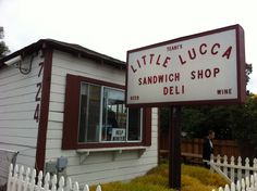 Little Lucca's - south san francisco sandwich shop. Best sandwiches ever! South San Francisco, San Francisco Travel, Sandwich Shops, Best Sandwich, Specialty Sandwiches, Daly City, Food To Go, Eat To Live, Food Places