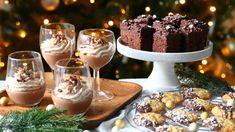 S-marketista löydät kaikki aineet herkulliseen jouluun. Katso ohjeet kolmeen erilaiseen joululeivonnaiseen, joissa kaikissa maistuu suklaa. Panna Cotta, Ethnic Recipes, Party, Drinks, Drinking, Dulce De Leche, Beverages, Parties, Drink