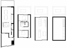 View the full picture gallery of Slip House Mews House, Saved Pages, Elevation Plan, Architect House, Case Study, House Plans, New Homes, Floor Plans, How To Plan