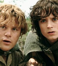 Sam and Frodo. Love these two together.