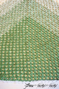 Anleitung Einfaches Dreiecks Tuch Mit Stäbchen Häkeln Häkeln Und