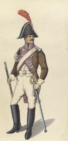 "Cavaliere l 4 rgt. cavalleria ""Giuseppe Napoleone"""