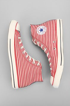 Converse Chuck Taylor All Star Flag High-Top Sneakers, because they are cool