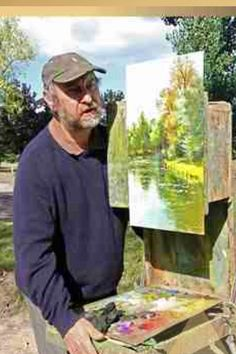 Sergei Toutounov (note varying spellings of first and last name) was born in Moscow and currently lives in Paris. Impressionist Art, Impressionism, Moving To Paris, Artist At Work, Lovers Art, Painting Inspiration, Les Oeuvres, Painters, Moscow