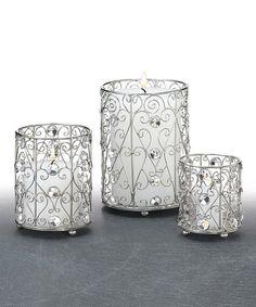 Sparkle Candleholder Set
