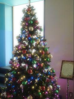 A Christmas tree produced by Reiji Kotobuki