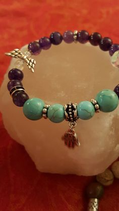 Purification, Peace  And Protection Bracelet