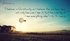 Love C.S. Lewis So Full of the wisdom that only comes from Christ