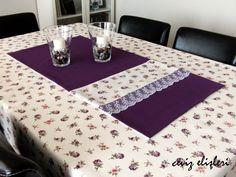 Ceviz Elişleri: masa örtüleri ve amerikan servislerim