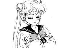 Manga Art, Anime Manga, Moon Sketches, Anime Monochrome, Sailor Moon Aesthetic, Sailor Moon Wallpaper, Sailor Moon Manga, Animated Icons, Kawaii