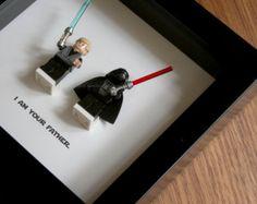 LEGO ich liebe dich ich weiß Star Wars von GeeksAndNerdsStudio
